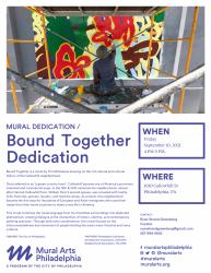 Bound Together Dedication flyer