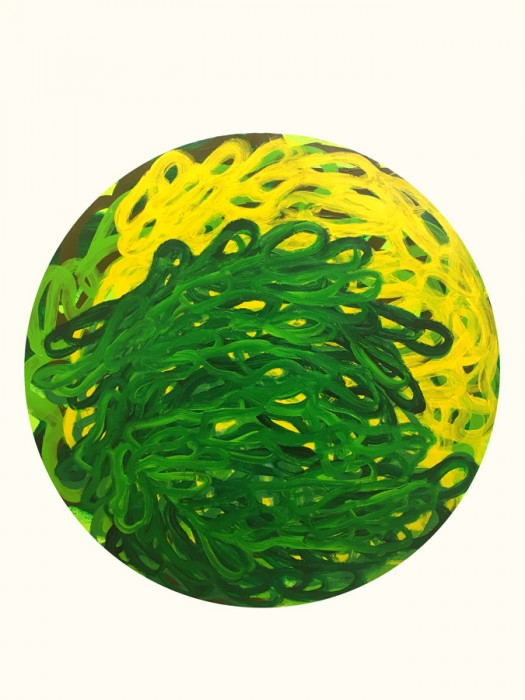 Tim McFarlane-Counter Currents I (Green)