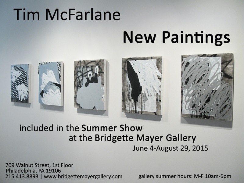 Digital postcard for Summer Show at Bridgette Mayer Gallery