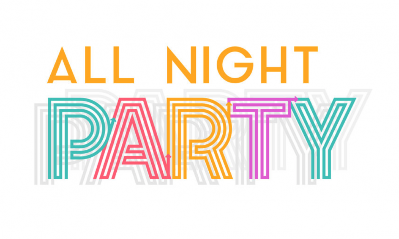 All Night Party graphic
