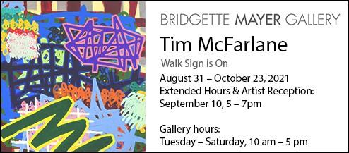 tim mcfarlane, walk sign is on