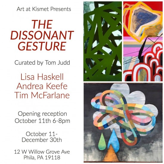 The Dissonant Gesture, group show